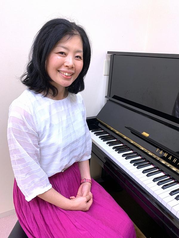 稲木 麻友美(いなき ゆうこ)ピアノレッスン