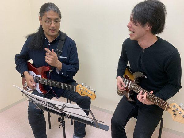 ギター個人レッスン教室 三宮・灘区 エレキギターで即興演奏