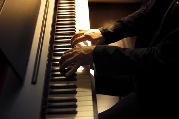 サークル音楽教室のピアノ