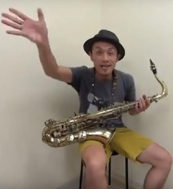 サックス個人レッスン教室 神戸・三宮 Just the two of us演奏