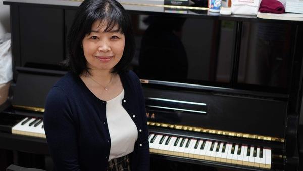 ピアノ講師稲木先生のインタビュー