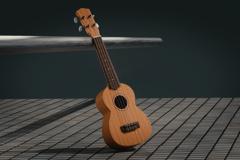 サークル音楽教室のウクレレ