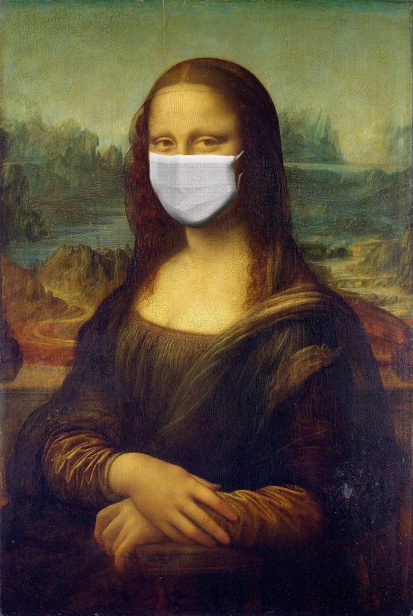 マスクはつけましょう。